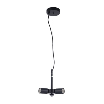 Основание для подвеса  Maytoni MOD974-PLBase-03-Black Torontoсовременные подвесные люстры модерн<br><br><br>S освещ. до, м2: 6<br>Тип лампы: накаливания / энергосбережения / LED-светодиодная<br>Тип цоколя: E27<br>Цвет арматуры: Черный<br>Количество ламп: 3<br>Диаметр, мм мм: 135<br>Высота, мм: 1060<br>MAX мощность ламп, Вт: 40