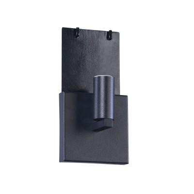 Основание для бра Maytoni MOD974-WLBase-01-Black TorontoЛофт<br><br><br>Тип цоколя: E14<br>Цвет арматуры: Черный<br>Количество ламп: 1<br>Ширина, мм: 90<br>Глубина, мм: 77<br>Высота, мм: 200<br>MAX мощность ламп, Вт: 40