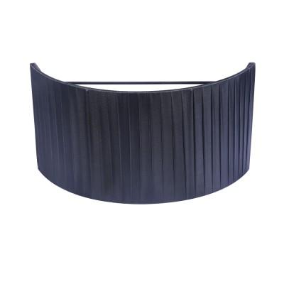 Абажур для бра Maytoni MOD974-WLShade-Black TorontoАбажуры<br>Абажур   MOD974-WLShade-Black  от немецкого производителя Maytoni  универсальное изделие, которое органично впишется как в классические, так и в современные интерьеры, будет одинаково хорошо смотреться в гостиной, спальне, детской или кабинете. Плафон из  перфорированной  плотной  ткани  изготовлен на высоком уровне. Подберите себе абажур по размеру  и расцветки.  Вы можете купить качественный сменный аксессуар  за приемлемую стоимость .<br> Для покупки устройства просто нажмите кнопку «добавить в корзину» или свяжитесь с нашими менеджерами.<br><br>Цвет арматуры: Черный<br>Ширина, мм: 150<br>Диаметр, мм мм: 300<br>Высота полная, мм: 160