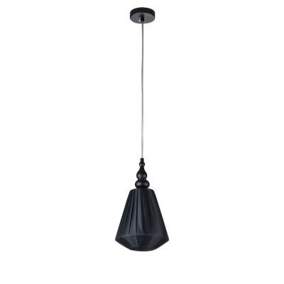 Люстра Maytoni MOD981-PL-01-B Majorcaодиночные подвесные светильники<br><br><br>Тип цоколя: E14<br>Цвет арматуры: Черный<br>Количество ламп: 1<br>Глубина, мм: 170<br>Оттенок (цвет): Черный<br>MAX мощность ламп, Вт: 40