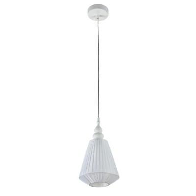Люстра Maytoni MOD981-PL-01-W MajorcaОдиночные<br><br><br>Тип цоколя: E14<br>Цвет арматуры: Белый<br>Количество ламп: 1<br>Глубина, мм: 170<br>Оттенок (цвет): Белый<br>MAX мощность ламп, Вт: 40