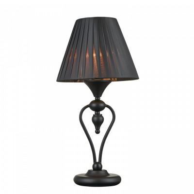 Настольная лампа Maytoni MOD981-TL-01-B MajorcaСовременные<br><br><br>Тип цоколя: E14<br>Цвет арматуры: Черный<br>Количество ламп: 1<br>Глубина, мм: 245<br>Оттенок (цвет): Черный<br>MAX мощность ламп, Вт: 40
