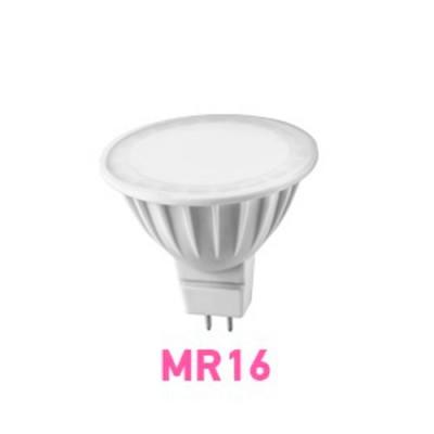 Лампа светодиодная ОНЛАЙТ 71 638 ОLL-MR16-5-230-4K-GU5.3Зеркальные MR16 - 5.3<br>Светодиодные лампы «Онлайт» – светодиодные энергосберегающие лампы общего и декоративного освещения.   Основные преимущества  • Высокоэффективные планарные светодиоды Epistar   • Алюминий и композитные материалы в составе радиаторов обеспечивают эффективный теплоотвод   • Высокоэффективный драйвер, построенный на интегральной микросхеме, обеспечивает стабильную работу при широком диапазоне входных напряжений без пульсаций светового потока   • Срок службы 30 000 часов.<br><br>Цветовая t, К: CW - холодный белый 4000 К<br>Тип лампы: LED - светодиодная<br>Тип цоколя: GU5.3 (MR16)<br>MAX мощность ламп, Вт: 5<br>Диаметр, мм мм: 50<br>Высота, мм: 50