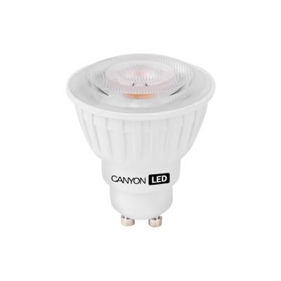 Светодиодная лампа CANYON MRGU10/8W230VN60Зеркальные Gu10<br>В интернет-магазине «Светодом» можно купить не только люстры и светильники, но и лампочки. В нашем каталоге представлены светодиодные, галогенные, энергосберегающие модели и лампы накаливания. В ассортименте имеются изделия разной мощности, поэтому у нас Вы сможете приобрести все необходимое для освещения.   Лампа Canyon MRGU10/8W230VN60 обеспечит отличное качество освещения. При покупке ознакомьтесь с параметрами в разделе «Характеристики», чтобы не ошибиться в выборе. Там же указано, для каких осветительных приборов Вы можете использовать лампу Canyon MRGU10/8W230VN60Canyon MRGU10/8W230VN60.   Для оформления покупки воспользуйтесь «Корзиной». При наличии вопросов Вы можете позвонить нашим менеджерам по одному из контактных номеров. Мы доставляем заказы в Москву, Екатеринбург и другие города России.<br><br>Рекомендуемые колбы ламп: MR16<br>Цветовая t, К: 4000<br>Тип лампы: LED - светодиодная<br>Тип цоколя: GU10<br>MAX мощность ламп, Вт: 7,5<br>Диаметр, мм мм: 50<br>Длина, мм: 57,5<br>Общая мощность, Вт: эквивалент лампы накаливания 55 Ватт
