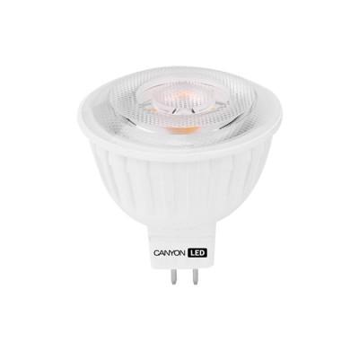 Светодиодная лампа CANYON MRGU53/8W230VN60Зеркальные MR16 - 5.3<br>В интернет-магазине «Светодом» можно купить не только люстры и светильники, но и лампочки. В нашем каталоге представлены светодиодные, галогенные, энергосберегающие модели и лампы накаливания. В ассортименте имеются изделия разной мощности, поэтому у нас Вы сможете приобрести все необходимое для освещения.   Лампа Canyon MRGU53/8W230VN60 обеспечит отличное качество освещения. При покупке ознакомьтесь с параметрами в разделе «Характеристики», чтобы не ошибиться в выборе. Там же указано, для каких осветительных приборов Вы можете использовать лампу Canyon MRGU53/8W230VN60Canyon MRGU53/8W230VN60.   Для оформления покупки воспользуйтесь «Корзиной». При наличии вопросов Вы можете позвонить нашим менеджерам по одному из контактных номеров. Мы доставляем заказы в Москву, Екатеринбург и другие города России.<br><br>Рекомендуемые колбы ламп: MR16<br>Цветовая t, К: 4000<br>Тип лампы: LED - светодиодная<br>Тип цоколя: GU5.3<br>MAX мощность ламп, Вт: 7,5<br>Диаметр, мм мм: 50<br>Длина, мм: 57,5<br>Общая мощность, Вт: эквивалент лампы накаливания 55 Ватт