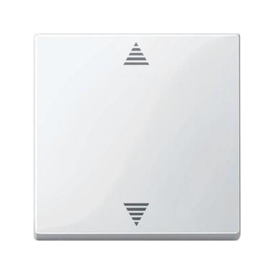 Merten SM Бел глянц Накладка электронного кнопочного выключателя жалюзи (MTN587719)Merten<br><br><br>Оттенок (цвет): белый