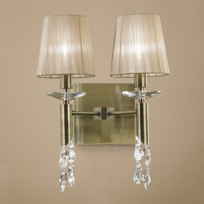 Бра Mantra 3883 TIFFANYКлассические<br><br><br>S освещ. до, м2: 3<br>Тип лампы: накаливания / энергосбережения / LED-светодиодная<br>Тип цоколя: E14/G9<br>Цвет арматуры: бронзовый античный<br>Количество ламп: 4<br>Ширина, мм: 330<br>Размеры: H450 W330 L192<br>Длина, мм: 192<br>Высота, мм: 450<br>MAX мощность ламп, Вт: 13