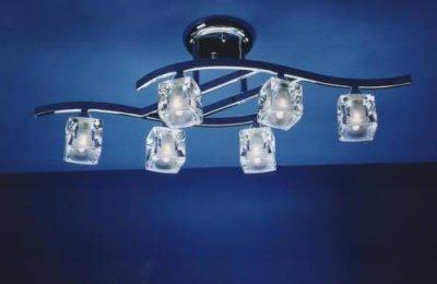 Люстра Mantra 4023 CUADRAXсовременные потолочные люстры модерн<br>Компания «Светодом» предлагает широкий ассортимент люстр от известных производителей. Представленные в нашем каталоге товары выполнены из современных материалов и обладают отличным качеством. Благодаря широкому ассортименту Вы сможете найти у нас люстру под любой интерьер. Мы предлагаем как классические варианты, так и современные модели, отличающиеся лаконичностью и простотой форм.  Стильная люстра Mantra 4023 станет украшением любого дома. Эта модель от известного производителя не оставит равнодушным ценителей красивых и оригинальных предметов интерьера. Люстра Mantra 4023 обеспечит равномерное распределение света по всей комнате. При выборе обратите внимание на характеристики, позволяющие приобрести наиболее подходящую модель. Купить понравившуюся люстру по доступной цене Вы можете в интернет-магазине «Светодом».<br><br>Установка на натяжной потолок: Да<br>S освещ. до, м2: 16<br>Крепление: Планка<br>Тип лампы: галогенная / LED-светодиодная<br>Тип цоколя: G9<br>Цвет арматуры: серебристый никель<br>Количество ламп: 6<br>Размеры: W 770 H 260<br>Длина, мм: 770<br>Высота, мм: 260<br>Оттенок (цвет): белый<br>MAX мощность ламп, Вт: 40