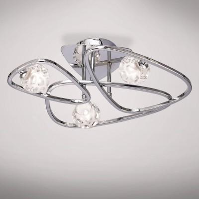 Потолочный светильник Mantra 5050 LUXПотолочные<br>Компания «Светодом» предлагает широкий ассортимент люстр от известных производителей. Представленные в нашем каталоге товары выполнены из современных материалов и обладают отличным качеством. Благодаря широкому ассортименту Вы сможете найти у нас люстру под любой интерьер. Мы предлагаем как классические варианты, так и современные модели, отличающиеся лаконичностью и простотой форм.  Стильная люстра Mantra 5050 станет украшением любого дома. Эта модель от известного производителя не оставит равнодушным ценителей красивых и оригинальных предметов интерьера. Люстра Mantra 5050 обеспечит равномерное распределение света по всей комнате. При выборе обратите внимание на характеристики, позволяющие приобрести наиболее подходящую модель. Купить понравившуюся люстру по доступной цене Вы можете в интернет-магазине «Светодом».<br><br>Установка на натяжной потолок: Ограничено<br>S освещ. до, м2: 5<br>Тип лампы: галогенная/LED<br>Тип цоколя: G9<br>Цвет арматуры: серебристый хром<br>Количество ламп: 3<br>Ширина, мм: 425<br>Длина, мм: 465<br>Высота, мм: 171<br>MAX мощность ламп, Вт: 33