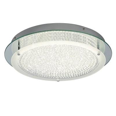 Потолочный светильник Mantra 5092 CRYSTALхрустальные потолочные люстры<br>Компания «Светодом» предлагает широкий ассортимент люстр от известных производителей. Представленные в нашем каталоге товары выполнены из современных материалов и обладают отличным качеством. Благодаря широкому ассортименту Вы сможете найти у нас люстру под любой интерьер. Мы предлагаем как классические варианты, так и современные модели, отличающиеся лаконичностью и простотой форм.  Стильная люстра Mantra 5092 станет украшением любого дома. Эта модель от известного производителя не оставит равнодушным ценителей красивых и оригинальных предметов интерьера. Люстра Mantra 5092 обеспечит равномерное распределение света по всей комнате. При выборе обратите внимание на характеристики, позволяющие приобрести наиболее подходящую модель. Купить понравившуюся люстру по доступной цене Вы можете в интернет-магазине «Светодом».<br><br>Установка на натяжной потолок: Да<br>S освещ. до, м2: 8<br>Цветовая t, К: 4000<br>Тип лампы: LED<br>Тип цоколя: LED<br>Цвет арматуры: серебристый хром<br>Количество ламп: 1<br>Ширина, мм: 80<br>Диаметр, мм мм: 450<br>MAX мощность ламп, Вт: 21