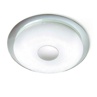 Потолочный светильник Mantra 5110 DIAMANTEпотолочные светильники<br>Настенно-потолочные светильники – это универсальные осветительные варианты, которые подходят для вертикального и горизонтального монтажа. В интернет-магазине «Светодом» Вы можете приобрести подобные модели по выгодной стоимости. В нашем каталоге представлены как бюджетные варианты, так и эксклюзивные изделия от производителей, которые уже давно заслужили доверие дизайнеров и простых покупателей.  Настенно-потолочный светильник Mantra 5110 станет прекрасным дополнением к основному освещению. Благодаря качественному исполнению и применению современных технологий при производстве эта модель будет радовать Вас своим привлекательным внешним видом долгое время. Приобрести настенно-потолочный светильник Mantra 5110 можно, находясь в любой точке России.<br><br>S освещ. до, м2: 7<br>Цветовая t, К: 2700 - 6500<br>Тип лампы: LED<br>Цвет арматуры: белый<br>Диаметр, мм мм: 450<br>Высота, мм: 51<br>MAX мощность ламп, Вт: 18