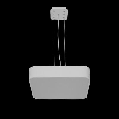 Подвесной светильник Mantra 5513+5516 CUMBUCOподвесные люстры хай тек<br><br><br>Установка на натяжной потолок: Да<br>S освещ. до, м2: 32<br>Цветовая t, К: CW - холодный белый 4000 К<br>Тип лампы: LED (входят в комплект)<br>Тип цоколя: LED<br>Цвет арматуры: белый<br>Количество ламп: 1<br>Ширина, мм: 600<br>Длина, мм: 600<br>Высота, мм: 200 - 1600 (плафон 100)<br>MAX мощность ламп, Вт: 80