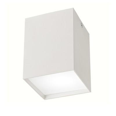 Mantra 5633 Потолочный светильникквадратные светильники<br><br><br>Тип лампы: галогенная/LED - светодиодная<br>Тип цоколя: GU10<br>Цвет арматуры: белый<br>Количество ламп: 1<br>Ширина, мм: 92<br>Длина, мм: 92<br>Высота, мм: 120<br>Поверхность арматуры: матовая<br>Оттенок (цвет): белый<br>MAX мощность ламп, Вт: 40