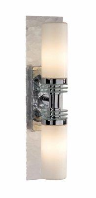 Светильник настенный MarkSlojd 100003 LERUMСовременные<br><br><br>S освещ. до, м2: 5<br>Тип лампы: галогенная / LED-светодиодная<br>Тип цоколя: G9<br>Количество ламп: 2<br>Ширина, мм: 350<br>MAX мощность ламп, Вт: 40<br>Высота, мм: 90<br>Цвет арматуры: серебристый