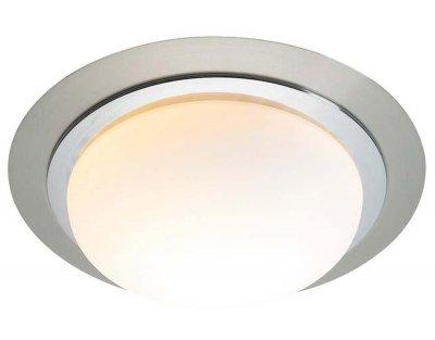 Светильник настенно-потолочный MarkSlojd 100196 TROSAКруглые<br>Настенно-потолочные светильники – это универсальные осветительные варианты, которые подходят для вертикального и горизонтального монтажа. В интернет-магазине «Светодом» Вы можете приобрести подобные модели по выгодной стоимости. В нашем каталоге представлены как бюджетные варианты, так и эксклюзивные изделия от производителей, которые уже давно заслужили доверие дизайнеров и простых покупателей.  Настенно-потолочный светильник MarkSlojd 100196 станет прекрасным дополнением к основному освещению. Благодаря качественному исполнению и применению современных технологий при производстве эта модель будет радовать Вас своим привлекательным внешним видом долгое время. Приобрести настенно-потолочный светильник MarkSlojd 100196 можно, находясь в любой точке России.<br><br>S освещ. до, м2: 2<br>Тип лампы: накаливания / энергосбережения / LED-светодиодная<br>Тип цоколя: E27<br>Количество ламп: 1<br>Ширина, мм: 280<br>MAX мощность ламп, Вт: 40<br>Длина, мм: 280<br>Высота, мм: 90<br>Цвет арматуры: серебристый