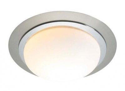 Светильник настенно-потолочный MarkSlojd 100198 TROSAКруглые<br>Настенно-потолочные светильники – это универсальные осветительные варианты, которые подходят для вертикального и горизонтального монтажа. В интернет-магазине «Светодом» Вы можете приобрести подобные модели по выгодной стоимости. В нашем каталоге представлены как бюджетные варианты, так и эксклюзивные изделия от производителей, которые уже давно заслужили доверие дизайнеров и простых покупателей.  Настенно-потолочный светильник MarkSlojd 100198 станет прекрасным дополнением к основному освещению. Благодаря качественному исполнению и применению современных технологий при производстве эта модель будет радовать Вас своим привлекательным внешним видом долгое время. Приобрести настенно-потолочный светильник MarkSlojd 100198 можно, находясь в любой точке России.<br><br>S освещ. до, м2: 4<br>Тип лампы: накаливания / энергосбережения / LED-светодиодная<br>Тип цоколя: E27<br>Количество ламп: 1<br>Ширина, мм: 360<br>MAX мощность ламп, Вт: 60<br>Длина, мм: 280<br>Высота, мм: 120<br>Цвет арматуры: серебристый