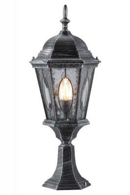 Уличный фонарь MarkSlojd 100295 VERAФонари на столб<br>Обеспечение качественного уличного освещения – важная задача для владельцев коттеджей. Компания «Светодом» предлагает современные светильники, которые порадуют Вас отличным исполнением. В нашем каталоге представлена продукция известных производителей, пользующихся популярностью благодаря высокому качеству выпускаемых товаров.   Уличный светильник MarkSlojd 100295 не просто обеспечит качественное освещение, но и станет украшением Вашего участка. Модель выполнена из современных материалов и имеет влагозащитный корпус, благодаря которому ей не страшны осадки.   Купить уличный светильник MarkSlojd 100295, представленный в нашем каталоге, можно с помощью онлайн-формы для заказа. Чтобы задать имеющиеся вопросы, звоните нам по указанным телефонам.<br><br>Тип лампы: накаливания / энергосбережения / LED-светодиодная<br>Тип цоколя: E27<br>Количество ламп: 1<br>Ширина, мм: 240<br>MAX мощность ламп, Вт: 75<br>Высота, мм: 620<br>Цвет арматуры: серый