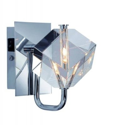 Бра MarkSlojd 101752 LAHOLMХай-тек<br><br><br>S освещ. до, м2: 1<br>Тип лампы: галогенная / LED-светодиодная<br>Тип цоколя: G4<br>Количество ламп: 1<br>Ширина, мм: 100<br>MAX мощность ламп, Вт: 20<br>Длина, мм: 160<br>Высота, мм: 140<br>Цвет арматуры: серебристый