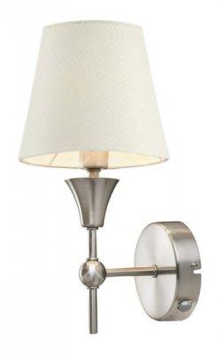 Бра MarkSlojd 102410 TRONDHEIMСовременные<br><br><br>S освещ. до, м2: 2<br>Тип лампы: накаливания / энергосбережения / LED-светодиодная<br>Тип цоколя: E14<br>Количество ламп: 1<br>Ширина, мм: 250<br>MAX мощность ламп, Вт: 40<br>Длина, мм: 250<br>Высота, мм: 150<br>Цвет арматуры: бежевый
