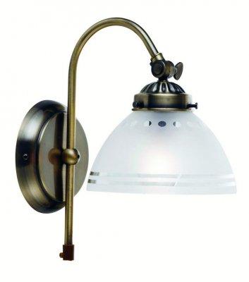 Бра MarkSlojd 102415 STAVANGERСовременные<br><br><br>S освещ. до, м2: 2<br>Тип лампы: накаливания / энергосбережения / LED-светодиодная<br>Тип цоколя: E14<br>Количество ламп: 1<br>Ширина, мм: 250<br>MAX мощность ламп, Вт: 40<br>Длина, мм: 250<br>Высота, мм: 150<br>Цвет арматуры: латунь