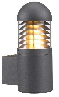 Уличный настенный светильник MarkSlojd 102570 KURT Vagglampa GRAНастенные<br>Обеспечение качественного уличного освещения – важная задача для владельцев коттеджей. Компания «Светодом» предлагает современные светильники, которые порадуют Вас отличным исполнением. В нашем каталоге представлена продукция известных производителей, пользующихся популярностью благодаря высокому качеству выпускаемых товаров.   Уличный светильник MarkSlojd 102570 не просто обеспечит качественное освещение, но и станет украшением Вашего участка. Модель выполнена из современных материалов и имеет влагозащитный корпус, благодаря которому ей не страшны осадки.   Купить уличный светильник MarkSlojd 102570, представленный в нашем каталоге, можно с помощью онлайн-формы для заказа. Чтобы задать имеющиеся вопросы, звоните нам по указанным телефонам.<br><br>Тип лампы: накаливания / энергосбережения / LED-светодиодная<br>Тип цоколя: E27<br>Количество ламп: 1<br>Ширина, мм: 178<br>MAX мощность ламп, Вт: 20<br>Длина, мм: 125<br>Высота, мм: 302<br>Цвет арматуры: серый