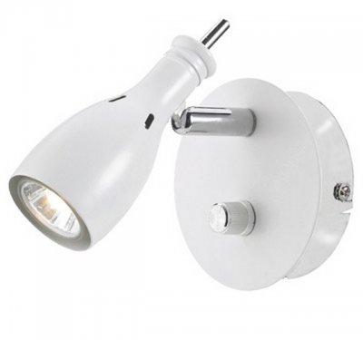 Бра MarkSlojd 102654 LAMMHULTОдиночные<br>Светильники-споты – это оригинальные изделия с современным дизайном. Они позволяют не ограничивать свою фантазию при выборе освещения для интерьера. Такие модели обеспечивают достаточно качественный свет. Благодаря компактным размерам Вы можете использовать несколько спотов для одного помещения.  Интернет-магазин «Светодом» предлагает необычный светильник-спот MarkSlojd 102654 по привлекательной цене. Эта модель станет отличным дополнением к люстре, выполненной в том же стиле. Перед оформлением заказа изучите характеристики изделия.  Купить светильник-спот MarkSlojd 102654 в нашем онлайн-магазине Вы можете либо с помощью формы на сайте, либо по указанным выше телефонам. Обратите внимание, что у нас склады не только в Москве и Екатеринбурге, но и других городах России.<br><br>S освещ. до, м2: 2<br>Тип лампы: галогенная / LED-светодиодная<br>Тип цоколя: GU10<br>Цвет арматуры: белый<br>Количество ламп: 1<br>Ширина, мм: 95<br>Длина, мм: 130<br>Высота, мм: 120<br>MAX мощность ламп, Вт: 35