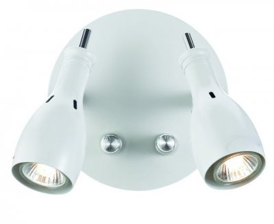 Бра MarkSlojd 102656 LAMMHULTХай-тек<br><br><br>S освещ. до, м2: 4<br>Тип лампы: галогенная / LED-светодиодная<br>Тип цоколя: GU10<br>Количество ламп: 2<br>Ширина, мм: 170<br>MAX мощность ламп, Вт: 35<br>Длина, мм: 130<br>Высота, мм: 150<br>Цвет арматуры: белый