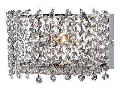 Бра MarkSlojd 102687 TROLLENASХрустальные<br><br><br>S освещ. до, м2: 2<br>Тип лампы: накаливания / энергосбережения / LED-светодиодная<br>Тип цоколя: E14<br>Количество ламп: 1<br>Ширина, мм: 260<br>MAX мощность ламп, Вт: 40<br>Длина, мм: 160<br>Высота, мм: 140<br>Цвет арматуры: серебристый