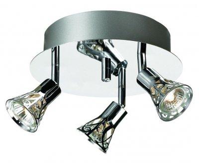 Светильник настенно-потолочный MarkSlojd 103056 MONSTERASТройные<br>Светильники-споты – это оригинальные изделия с современным дизайном. Они позволяют не ограничивать свою фантазию при выборе освещения для интерьера. Такие модели обеспечивают достаточно качественный свет. Благодаря компактным размерам Вы можете использовать несколько спотов для одного помещения.  Интернет-магазин «Светодом» предлагает необычный светильник-спот MarkSlojd 103056 по привлекательной цене. Эта модель станет отличным дополнением к люстре, выполненной в том же стиле. Перед оформлением заказа изучите характеристики изделия.  Купить светильник-спот MarkSlojd 103056 в нашем онлайн-магазине Вы можете либо с помощью формы на сайте, либо по указанным выше телефонам. Обратите внимание, что у нас склады не только в Москве и Екатеринбурге, но и других городах России.<br><br>S освещ. до, м2: 10<br>Тип лампы: галогенная / LED-светодиодная<br>Тип цоколя: GU10<br>Количество ламп: 3<br>Ширина, мм: 300<br>MAX мощность ламп, Вт: 50<br>Высота, мм: 140<br>Цвет арматуры: серебристый