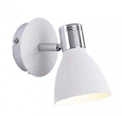 Светильник настенный MarkSlojd 103064 HUSEBYОдиночные<br>Светильники-споты – это оригинальные изделия с современным дизайном. Они позволяют не ограничивать свою фантазию при выборе освещения для интерьера. Такие модели обеспечивают достаточно качественный свет. Благодаря компактным размерам Вы можете использовать несколько спотов для одного помещения.  Интернет-магазин «Светодом» предлагает необычный светильник-спот MarkSlojd 103064 по привлекательной цене. Эта модель станет отличным дополнением к люстре, выполненной в том же стиле. Перед оформлением заказа изучите характеристики изделия.  Купить светильник-спот MarkSlojd 103064 в нашем онлайн-магазине Вы можете либо с помощью формы на сайте, либо по указанным выше телефонам. Обратите внимание, что у нас склады не только в Москве и Екатеринбурге, но и других городах России.<br><br>S освещ. до, м2: 2<br>Тип лампы: накал-я - энергосбер-я<br>Тип цоколя: E14<br>Количество ламп: 1<br>Ширина, мм: 100<br>MAX мощность ламп, Вт: 40<br>Длина, мм: 180<br>Высота, мм: 150<br>Цвет арматуры: белый
