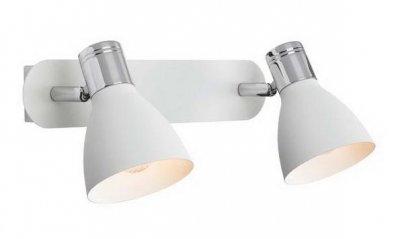 Светильник настенный MarkSlojd 103066 HUSEBYДвойные<br>Светильники-споты – это оригинальные изделия с современным дизайном. Они позволяют не ограничивать свою фантазию при выборе освещения для интерьера. Такие модели обеспечивают достаточно качественный свет. Благодаря компактным размерам Вы можете использовать несколько спотов для одного помещения.  Интернет-магазин «Светодом» предлагает необычный светильник-спот MarkSlojd 103066 по привлекательной цене. Эта модель станет отличным дополнением к люстре, выполненной в том же стиле. Перед оформлением заказа изучите характеристики изделия.  Купить светильник-спот MarkSlojd 103066 в нашем онлайн-магазине Вы можете либо с помощью формы на сайте, либо по указанным выше телефонам. Обратите внимание, что у нас склады не только в Москве и Екатеринбурге, но и других городах России.<br><br>S освещ. до, м2: 5<br>Тип лампы: накал-я - энергосбер-я<br>Тип цоколя: E14<br>Количество ламп: 2<br>Ширина, мм: 330<br>MAX мощность ламп, Вт: 40<br>Длина, мм: 180<br>Высота, мм: 140<br>Цвет арматуры: белый