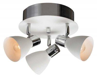 Светильник настенно-потолочный MarkSlojd 103068 HUSEBYТройные<br>Светильники-споты – это оригинальные изделия с современным дизайном. Они позволяют не ограничивать свою фантазию при выборе освещения для интерьера. Такие модели обеспечивают достаточно качественный свет. Благодаря компактным размерам Вы можете использовать несколько спотов для одного помещения.  Интернет-магазин «Светодом» предлагает необычный светильник-спот MarkSlojd 103068 по привлекательной цене. Эта модель станет отличным дополнением к люстре, выполненной в том же стиле. Перед оформлением заказа изучите характеристики изделия.  Купить светильник-спот MarkSlojd 103068 в нашем онлайн-магазине Вы можете либо с помощью формы на сайте, либо по указанным выше телефонам. Обратите внимание, что у нас склады не только в Москве и Екатеринбурге, но и других городах России.<br><br>S освещ. до, м2: 8<br>Тип лампы: накал-я - энергосбер-я<br>Тип цоколя: E14<br>Количество ламп: 3<br>Ширина, мм: 300<br>MAX мощность ламп, Вт: 40<br>Высота, мм: 230<br>Цвет арматуры: белый