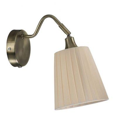 Бра MarkSlojd 104326 MJOLBYГибкие<br><br><br>S освещ. до, м2: 2<br>Тип лампы: накаливания / энергосбережения / LED-светодиодная<br>Тип цоколя: E14<br>Количество ламп: 1<br>Ширина, мм: 140<br>MAX мощность ламп, Вт: 40<br>Длина, мм: 250<br>Высота, мм: 245<br>Цвет арматуры: бронзовый
