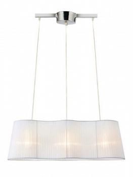 Люстра подвесная MarkSlojd 104330 VISINGSOтройные подвесные светильники<br>Подвесной светильник – это универсальный вариант, подходящий для любой комнаты. Сегодня производители предлагают огромный выбор таких моделей по самым разным ценам. В каталоге интернет-магазина «Светодом» мы собрали большое количество интересных и оригинальных светильников по выгодной стоимости. Вы можете приобрести их в Москве, Екатеринбурге и любом другом городе России.  Подвесной светильник MarkSlojd 104330 сразу же привлечет внимание Ваших гостей благодаря стильному исполнению. Благородный дизайн позволит использовать эту модель практически в любом интерьере. Она обеспечит достаточно света и при этом легко монтируется. Чтобы купить подвесной светильник MarkSlojd 104330, воспользуйтесь формой на нашем сайте или позвоните менеджерам интернет-магазина.<br><br>S освещ. до, м2: 9<br>Тип лампы: накаливания / энергосбережения / LED-светодиодная<br>Тип цоколя: E27<br>Цвет арматуры: серебристый<br>Количество ламп: 3<br>Ширина, мм: 765<br>Длина, мм: 1200<br>Высота, мм: 260<br>MAX мощность ламп, Вт: 60