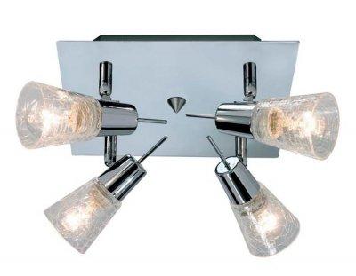 Светильник настенно-потолочный MarkSlojd 147444-488021 DARWINС 4 лампами<br>Светильники-споты – это оригинальные изделия с современным дизайном. Они позволяют не ограничивать свою фантазию при выборе освещения для интерьера. Такие модели обеспечивают достаточно качественный свет. Благодаря компактным размерам Вы можете использовать несколько спотов для одного помещения.  Интернет-магазин «Светодом» предлагает необычный светильник-спот MarkSlojd 147444-488021 по привлекательной цене. Эта модель станет отличным дополнением к люстре, выполненной в том же стиле. Перед оформлением заказа изучите характеристики изделия.  Купить светильник-спот MarkSlojd 147444-488021 в нашем онлайн-магазине Вы можете либо с помощью формы на сайте, либо по указанным выше телефонам. Обратите внимание, что у нас склады не только в Москве и Екатеринбурге, но и других городах России.<br><br>Тип лампы: накал-я - энергосбер-я<br>Цвет арматуры: серебристый