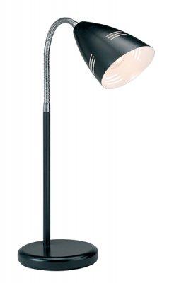 Настольная лампа MarkSlojd 197823 VEJLEЧерные<br>Настольная лампа – это не просто источник дополнительного освещения, но и оригинальный элемент декора. Его можно установить в спальне, гостиной, кабинете и других комнатах. Интернет-магазин «Светодом» предлагает настольные лампы разных стилей по доступным ценам. Благодаря большому ассортименту Вы обязательно найдете в нашем каталоге именно ту модель, которую искали.   Настольная лампа MarkSlojd 197823 – прекрасный вариант для завершения интерьера. Ее можно включить одновременно с люстрой для более яркого освещения или без нее для создания уютной атмосферы, настраивающей на отдых.   Купить настольную лампу MarkSlojd 197823 Вы можете с помощью виртуальной «Корзины» или по контактным номерам, указанным на сайте.<br><br>Тип лампы: накал-я - энергосбер-я<br>Цвет арматуры: черный