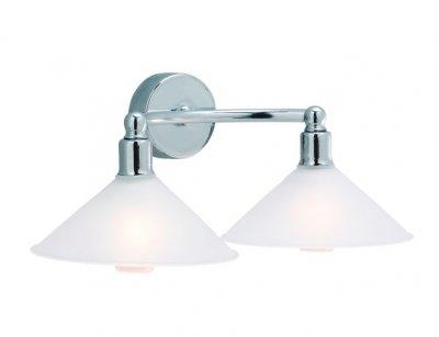 Бра MarkSlojd 237041-496112 ROSAСовременные<br><br><br>Тип лампы: галогенная / LED-светодиодная<br>Цвет арматуры: серебристый