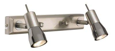 Светильник настенный MarkSlojd 261041 TITANIAДвойные<br>Светильники-споты – это оригинальные изделия с современным дизайном. Они позволяют не ограничивать свою фантазию при выборе освещения для интерьера. Такие модели обеспечивают достаточно качественный свет. Благодаря компактным размерам Вы можете использовать несколько спотов для одного помещения.  Интернет-магазин «Светодом» предлагает необычный светильник-спот MarkSlojd 261041 по привлекательной цене. Эта модель станет отличным дополнением к люстре, выполненной в том же стиле. Перед оформлением заказа изучите характеристики изделия.  Купить светильник-спот MarkSlojd 261041 в нашем онлайн-магазине Вы можете либо с помощью формы на сайте, либо по указанным выше телефонам. Обратите внимание, что у нас склады не только в Москве и Екатеринбурге, но и других городах России.<br><br>Тип лампы: галогенная / LED-светодиодная<br>Цвет арматуры: черный