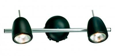 Светильник настенный MarkSlojd 413023 TOBOДвойные<br>Светильники-споты – это оригинальные изделия с современным дизайном. Они позволяют не ограничивать свою фантазию при выборе освещения для интерьера. Такие модели обеспечивают достаточно качественный свет. Благодаря компактным размерам Вы можете использовать несколько спотов для одного помещения.  Интернет-магазин «Светодом» предлагает необычный светильник-спот MarkSlojd 413023 по привлекательной цене. Эта модель станет отличным дополнением к люстре, выполненной в том же стиле. Перед оформлением заказа изучите характеристики изделия.  Купить светильник-спот MarkSlojd 413023 в нашем онлайн-магазине Вы можете либо с помощью формы на сайте, либо по указанным выше телефонам. Обратите внимание, что у нас склады не только в Москве и Екатеринбурге, но и других городах России.<br><br>Тип лампы: галогенная / LED-светодиодная<br>Цвет арматуры: черный