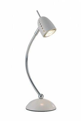 Настольная лампа MarkSlojd 413712 TOBOХай тек<br>Настольная лампа – это не просто источник дополнительного освещения, но и оригинальный элемент декора. Его можно установить в спальне, гостиной, кабинете и других комнатах. Интернет-магазин «Светодом» предлагает настольные лампы разных стилей по доступным ценам. Благодаря большому ассортименту Вы обязательно найдете в нашем каталоге именно ту модель, которую искали.   Настольная лампа MarkSlojd 413712 – прекрасный вариант для завершения интерьера. Ее можно включить одновременно с люстрой для более яркого освещения или без нее для создания уютной атмосферы, настраивающей на отдых.   Купить настольную лампу MarkSlojd 413712 Вы можете с помощью виртуальной «Корзины» или по контактным номерам, указанным на сайте.<br><br>Тип лампы: галогенная / LED-светодиодная<br>Цвет арматуры: белый