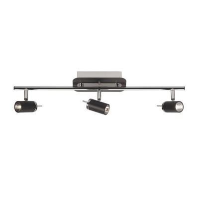 Светильник настенно-потолочный MarkSlojd 102324 LOMMAТройные<br>Светильники-споты – это оригинальные изделия с современным дизайном. Они позволяют не ограничивать свою фантазию при выборе освещения для интерьера. Такие модели обеспечивают достаточно качественный свет. Благодаря компактным размерам Вы можете использовать несколько спотов для одного помещения. <br>Интернет-магазин «Светодом» предлагает необычный светильник-спот MarkSlojd 102324 по привлекательной цене. Эта модель станет отличным дополнением к люстре, выполненной в том же стиле. Перед оформлением заказа изучите характеристики изделия. <br>Купить светильник-спот MarkSlojd 102324 в нашем онлайн-магазине Вы можете либо с помощью формы на сайте, либо по указанным выше телефонам. Обратите внимание, что у нас склады не только в Москве и Екатеринбурге, но и других городах России.<br><br>S освещ. до, м2: 4<br>Тип лампы: галогенная / LED-светодиодная<br>Тип цоколя: MR11<br>Цвет арматуры: серебристый<br>Количество ламп: 3<br>Ширина, мм: 175<br>Длина, мм: 570<br>MAX мощность ламп, Вт: 20