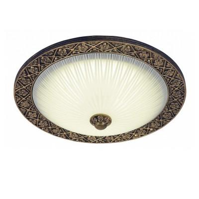 Светильник потолочный Marziya 264/30PF-LEDOldbronzeкруглые светильники<br><br><br>Крепление: Крепежная планка<br>Тип цоколя: LED<br>Цвет арматуры: Бронза антик<br>Диаметр, мм мм: 280<br>Высота, мм: 135<br>Оттенок (цвет): Белый<br>MAX мощность ламп, Вт: 12