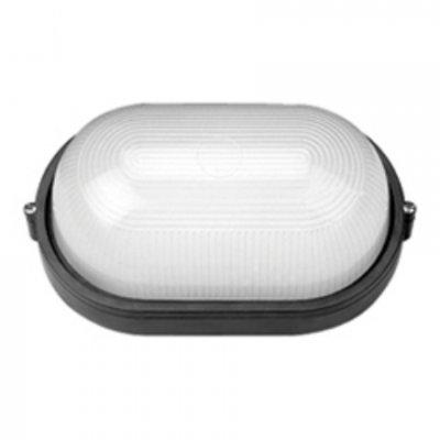 Светильник Navigator 94 813 черныйДля подъездов и саун<br>Влагозащищенные светильники типа NBL-O овальной формы предназначены для использования с лампами накаливания со стандартным цоколем Е27 и поставляются в двух типоразмерах – для ламп максимальной мощностью 60 Вт и 100 Вт и степенью защиты от воздействия окружающей среды IP54.<br><br>Тип лампы: накал-я - энергосб-я<br>Тип цоколя: E27<br>Ширина, мм: 265<br>MAX мощность ламп, Вт: 100W<br>Расстояние от стены, мм: 100<br>Высота, мм: 155