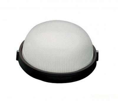 Светильник Navigator 94 811 черныйДля подъездов и саун<br>Влагозащищенные светильники типа NBL-R круглой формы предназначены для использования с лампами накаливания со стандартным цоколем Е27 и поставляются в двух типоразмерах – для ламп максимальной мощностью 60 Вт и 100 Вт и степенью защиты от воздействия окружающей среды IP54.<br><br>Тип лампы: накал-я - энергосб-я<br>Тип цоколя: E27<br>MAX мощность ламп, Вт: 60W<br>Диаметр, мм мм: 175<br>Расстояние от стены, мм: 75