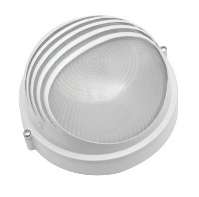 Светильник Navigator 94 817 белыйДля подъездов и саун<br>Влагозащищенные светильники типа NBL-R круглой формы предназначены для использования с лампами накаливания со стандартным цоколем Е27 и поставляются в двух типоразмерах – для ламп максимальной мощностью 60 Вт и 100 Вт и степенью защиты от воздействия окружающей среды IP54.<br><br>Тип лампы: накал-я - энергосб-я<br>Тип цоколя: E27<br>MAX мощность ламп, Вт: 60W<br>Диаметр, мм мм: 175<br>Расстояние от стены, мм: 85