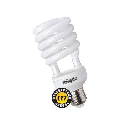 Лампа энергосберегающая Navigator 94 056 NCL-SH-30-860-E27Спиральные<br>Navigator NCL-SH10 – компактная люминесцентная энергосберегающая лампа. Колба новой лампы NCL-SH10 15 Вт представляет собой полуспираль, изготовленную из люминесцентной трубки диаметром 7 мм (T2), трубки диаметром 9 мм в лампах мощностью 20 Вт и 25 Вт, 12 мм в лампах мощностью 30 Вт. При изготовлении трубки используется высококачественный трехполосный люминофор, что обеспечивает превосходное качество света и высокую светоотдачу ламп. Лампа NCL-SH10 15 Вт поставляется в трех цветовых температурах: 2700 К, 4000 К, 6500 K с двумя типоразмерами цоколя: Е14 и Е27. Лампы NCL-SH10 20Вт, 25Вт, 30Вт поставляется со стандартным цоколем E27.  Лампы Navigator NCL-SH10 не предназначены для использования с регуляторами светового потока (диммерами).  Срок службы ламп NCL-SH10 составляет 10000 часов.<br><br>Цветовая t, К: CW - дневной белый 6000 К<br>Тип лампы: Энергосберегающая<br>Тип цоколя: E27<br>MAX мощность ламп, Вт: 30<br>Диаметр, мм мм: 60<br>Высота, мм: 132