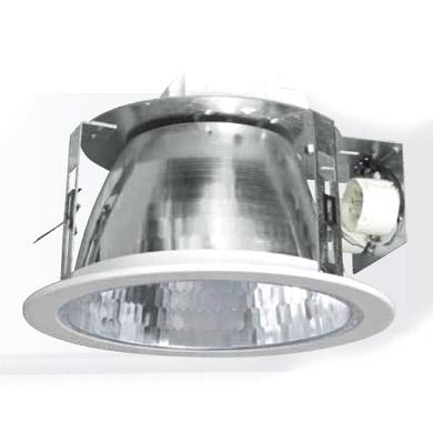 Светильник Navigator 94 873/94 883 NDL-BF 2х26 ПРАДаунлайты<br>Встраиваемый потолочный светильник Navigator серии NDL-BF   Круглый неповоротный светильник направленного света Navigator серии NDL-BF с фасетным отражателем без стекла традиционно широко применяются для освещения торговых коммерческих и офисных помещений.Светильник downlight NDL-BF предназначен для работы с двумя компактными люминесцентными лампами типа Navigator NCL-PD и имеет две модификации: две КЛЛ лампы 18 Вт  две КЛЛ лампы 26 Вт.   Корпус  Опорный кронштейн сделан из оцинкованной стали, все крепления конструкции осуществляются стальными анодированными винтами. Установка светильника осуществляется с помощью пружинной защелки. Для удобства крепления, на поддерживающий кронштейн на который крепятсязащелки нанесены мерные отметки.   Оптическая часть  Зеркальный фасетный отражатель сделан из высококачественного анодированного алюминия. В упаковку вложены перчатки, которые рекомендуется использовать при монтаже светильника и для замены ламп.   ЭПРА  Электронные пускорегулирующие устройства Navigator серии NB-EPL оснащены защитой от короткого замыкания и от перегрева. ЭПРА Navigator обеспечивают мгновенный старт и бесшумную работу люминесцентных ламп. Корпус ЭПРА Navigator изготовлен из ударопрочного негорючегопластика.<br><br>Диаметр врезного отверстия, мм: 220