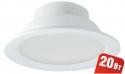 Светильник Navigator 94 837 NDL-P1-20W-840-WH-LEDСветодиодные круглые светильники<br>Встраиваемый светодиодный энергосберегающий светильник типа Downlight (направленного света) NDL-LED cоздает яркий направленный и равномерный свет, что делает его идеальным решением любых задач по освещению. Предназначен для освещения внутренних пространств в жилых, офисных и коммерческих помещениях. Степень защиты IP44 позволяет использовать светильник в помещениях с повышенной влажностью (в ванных комнатах, для подсветки кухонных рабочих поверхностей и проч.) В светодиодных светильниках NDL-LED применяется отражатель параболической формы, что обеспечивает направленное распределение света в угле 90°. В светодиодных светильниках NDL-LED применяются высокоэффективные планарные светодиоды Epistar, обеспечивающие эффективность до 80 лм/Вт. При этом коэффициент цветопередачи светильника обеспечивается на уровне Ragt 82. Срок службы 40 000 часов. Предоставляется гарантия 3 года.<br><br>S освещ. до, м2: 3<br>Цветовая t, К: 4000<br>Тип лампы: LED-светодиодная<br>Цвет арматуры: белый<br>Диаметр, мм мм: 170<br>Диаметр врезного отверстия, мм: 152-160<br>Высота, мм: 70<br>MAX мощность ламп, Вт: 20
