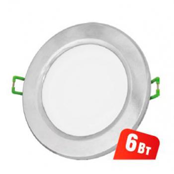 Светильник Navigator 71 370 NDL-R1-6W-840-CH-GX53-LEDКруглые LED<br>Ультратонкий встраиваемый светодиодный энергосберегающийсветильник типа GX53. Создает яркий направленный и равномерныйсвет, что делает его идеальным решением любых задач по освещению.<br>Основные преимущества <br><br>Эффективные и надежные светодиоды EPISTAR(Тайвань) Ragt;80; 75 Лм/Вт<br>Корпус из композитного материала с декоративным кольцом из металла или пластика<br>Матовый рассеиватель<br>Отсутствие мерцания и пульсаций светового потока<br>Надежный драйвер с высоким КПД (PFgt;0.5)<br>Стандартные размер и крепление, установочная высота всего 36 мм<br>Идеальное решение для подвесных и натяжных потолков, мебели и других конструкций<br>Диапазон рабочих температур окружающей среды от -30 до +40<br>Срок службы 40 000 часов<br>Гарантия 3 года<br>