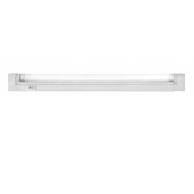 Светильник люминесцентный Navigator 94 517С лампой T5<br>Люминесцентные компактные светильники NEL-B2 предназначены для дополнительного освещения в жилых, офисных и коммерческих помещениях. Удобны для подсветки встроенных шкафов и гардеробных комнат, кухонных гарнитуров и зеркал в прихожих, а также витрин и прилавков в магазинах.<br>  Корпус светильника NEL-B2 изготовлен из поликарбоната, выполнен в белом цвете. Рассеиватель изготовлен из прозрачного рифленого акрила (полиметилметакрилат). Светильник предназначен для работы от сетевого напряжения 220 – 240 В с частотой 50/60 Гц.<br>  Материалы, из которых изготовлен светильник, не поддерживают горение.Диапазон рабочих температур окружающей среды светильника от 0°С до 45°С.<br>  Светильники серии NEL-B2 с закрытой лампой (с рассеивателем), встроенным ЭПРА и кнопкой включения/выключения на корпусе, комплектуются:• лампой люминесцентной Т5 (индекс цветопередачи Ra gt; 82) • сетевым шнуром с вилкой • соединительным кабелем, с помощью которого можно подключить в единую цепь до 10 светильников • крепежом для присоединения светильника к вертикальной или горизонтальной поверхности.<br><br>S освещ. до, м2: 5 - 7<br>Цветовая t, К: 4200<br>Тип лампы: люмин-я T5<br>Тип цоколя: G5<br>Цвет арматуры: белый<br>Количество ламп: 1<br>Ширина, мм: 22<br>Длина, мм: 903/905<br>Высота, мм: 43<br>MAX мощность ламп, Вт: 21